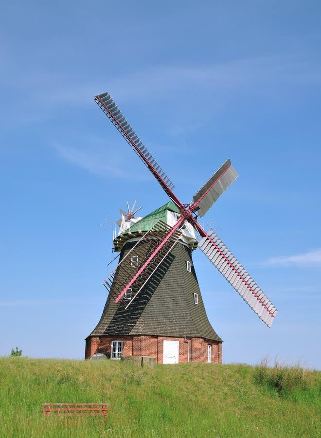 ветрянка печки mecklenburg Германии свободного полета стоковая фотография
