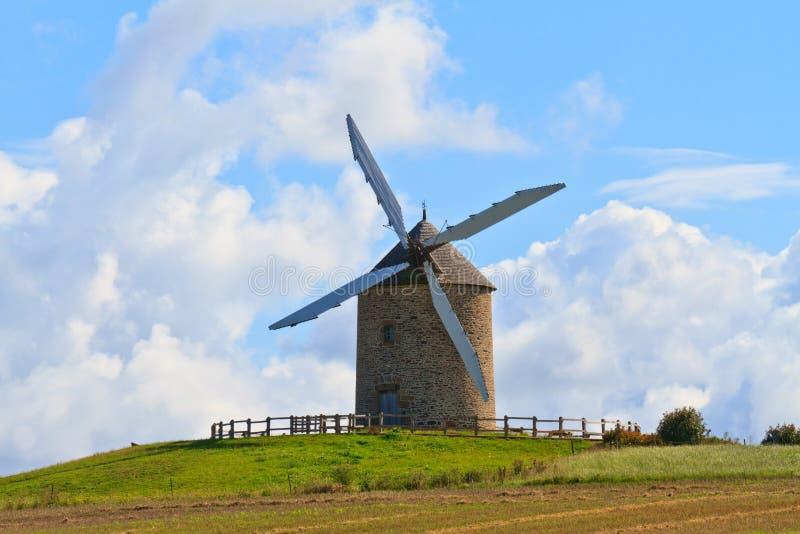 ветрянка Франции старая стоковое фото