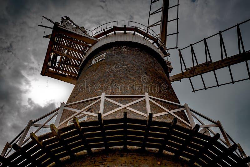 Ветрянка Bircham стоковая фотография rf