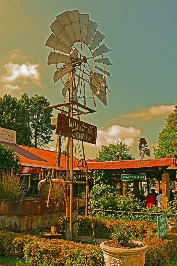 Ветрянка Clarens стоковое изображение