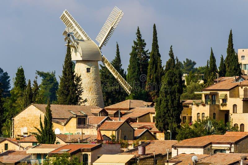 Ветрянка Montefiore стоковое изображение