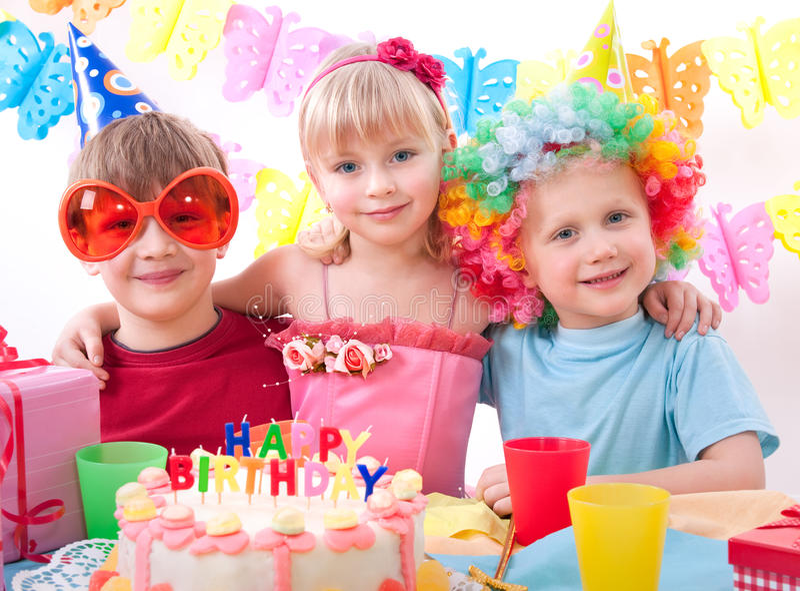 вечеринка по случаю дня рождения стоковые изображения rf