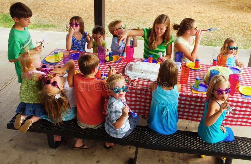 вечеринка по случаю дня рождения стоковое фото