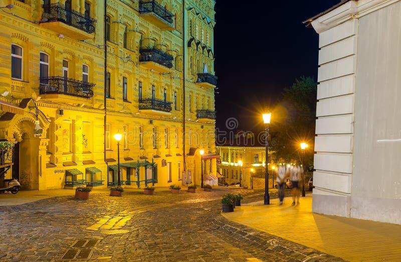 Вечер в спуске ` s Эндрью стоковая фотография rf