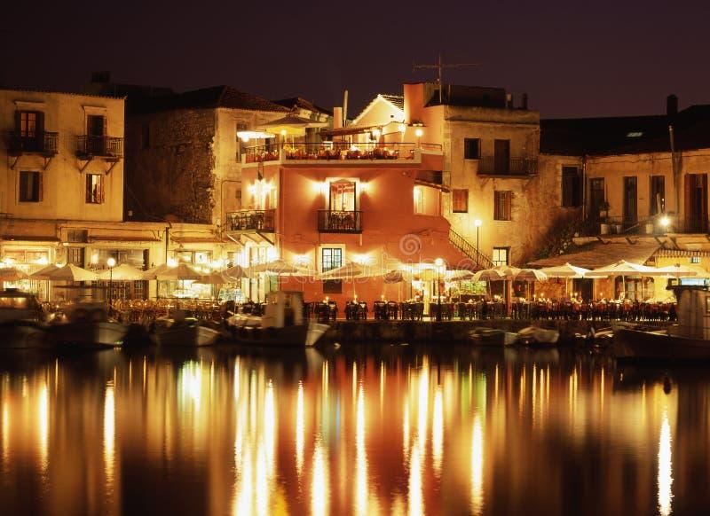 вечер Крита стоковое изображение rf