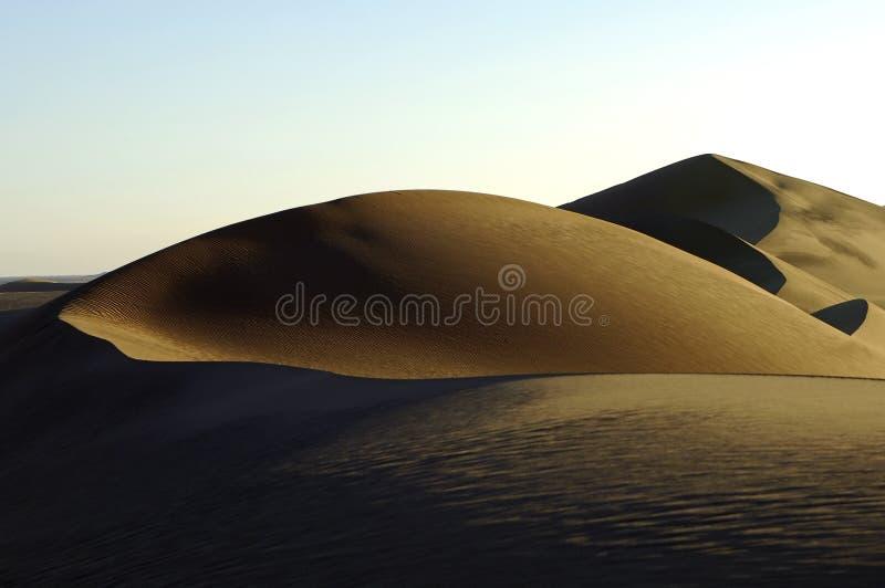 вечер пустыни стоковые изображения