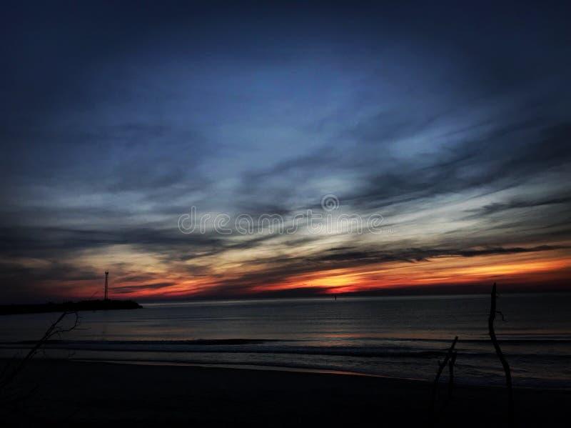 вечер стоковое изображение rf