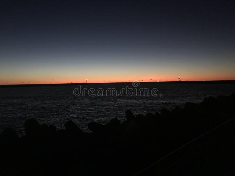вечер стоковая фотография rf