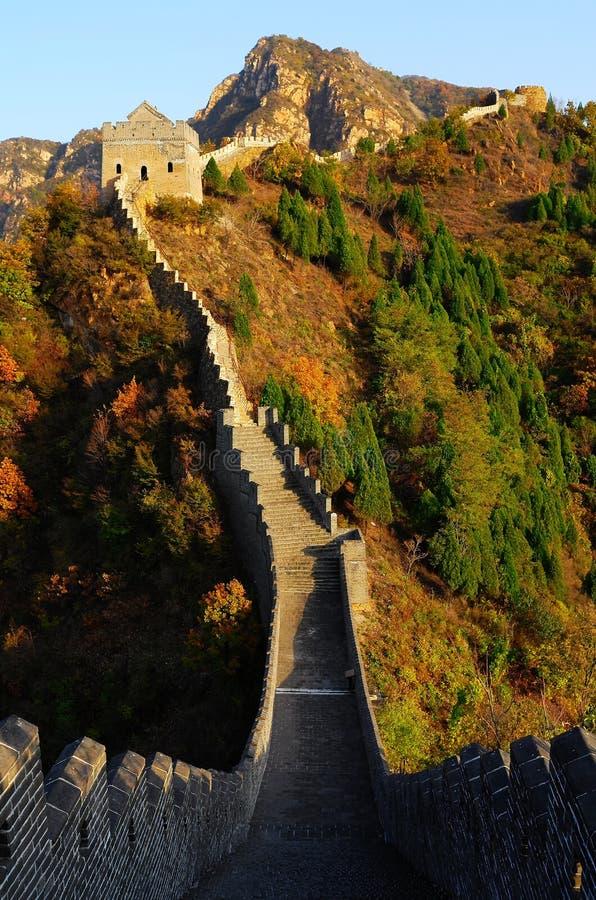 Великая Китайская Стена на Huangyaguan стоковые изображения rf