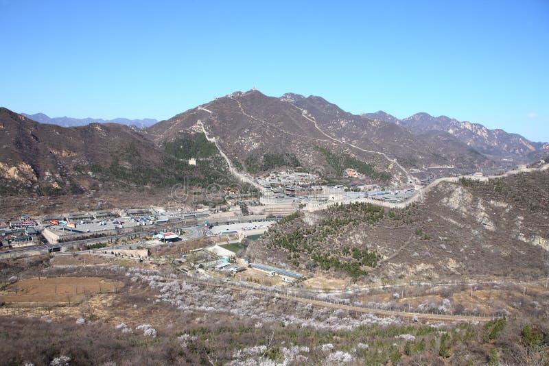 Великая Китайская Стена Juyongguan стоковая фотография rf