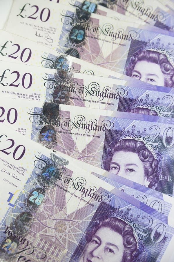 Великобританская валюта стоковое изображение rf