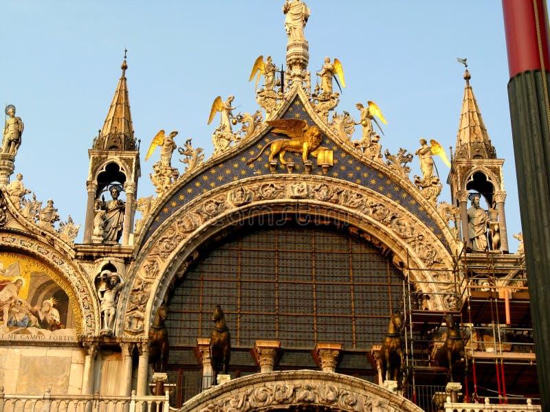 Великолепие и роскошь в Венеции стоковые изображения