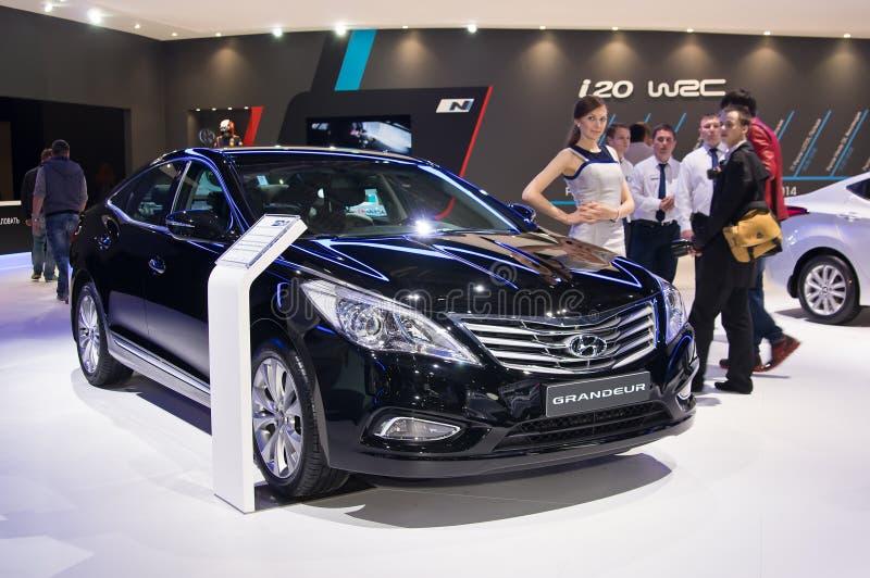 Великолепие Hyundai стоковое изображение rf