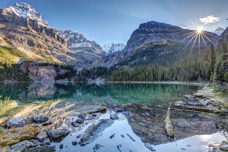 Величественное ` Hara озера o стоковое фото rf