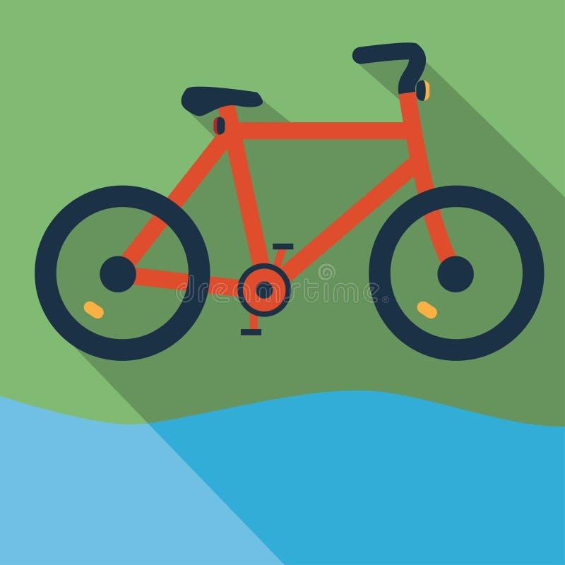 Велосипед, велосипед иллюстрация штока