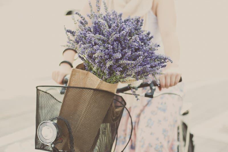 Велосипед временени стоковая фотография rf
