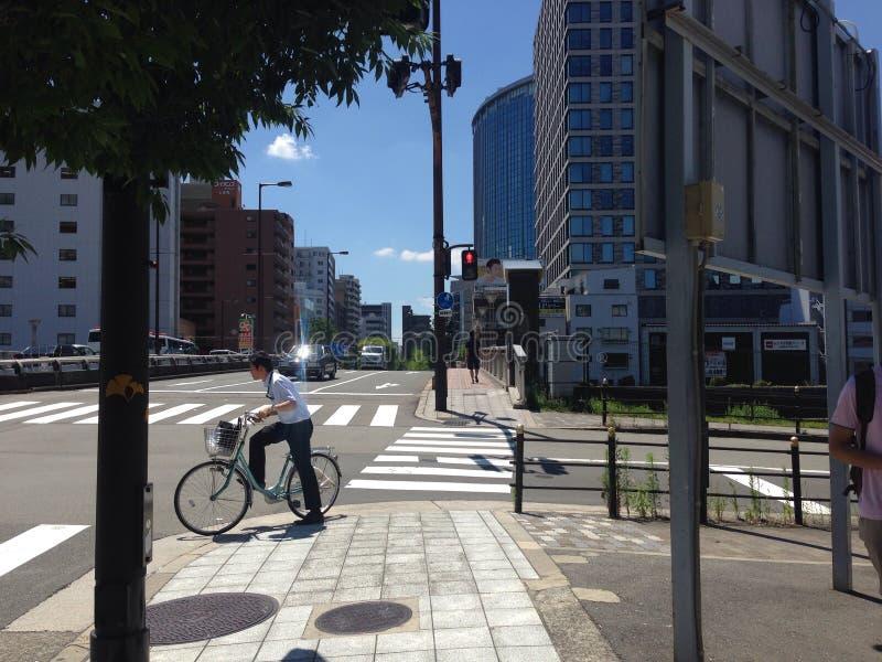 Велосипед & город стоковое фото