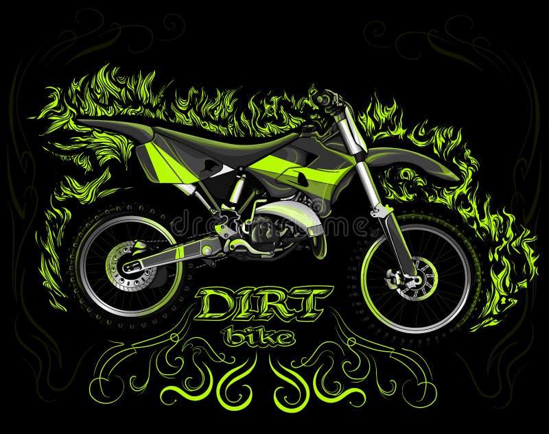Велосипед грязи бесплатная иллюстрация