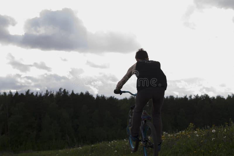 Велосипед езды стоковые фото