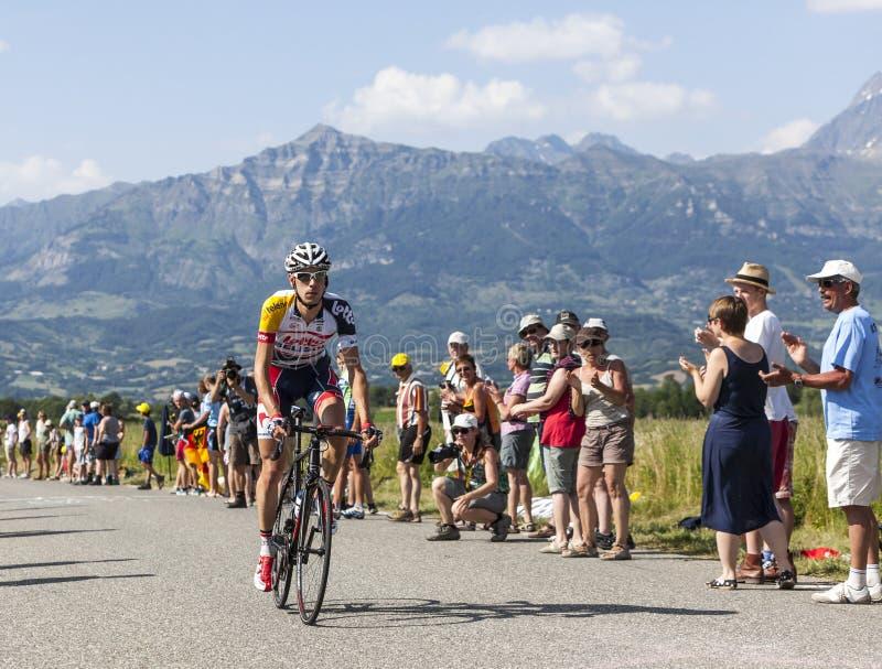 Велосипедист Барт De Clercq стоковое фото rf