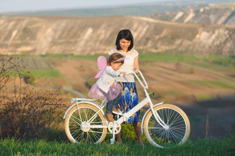 Велосипед катания стоковая фотография rf