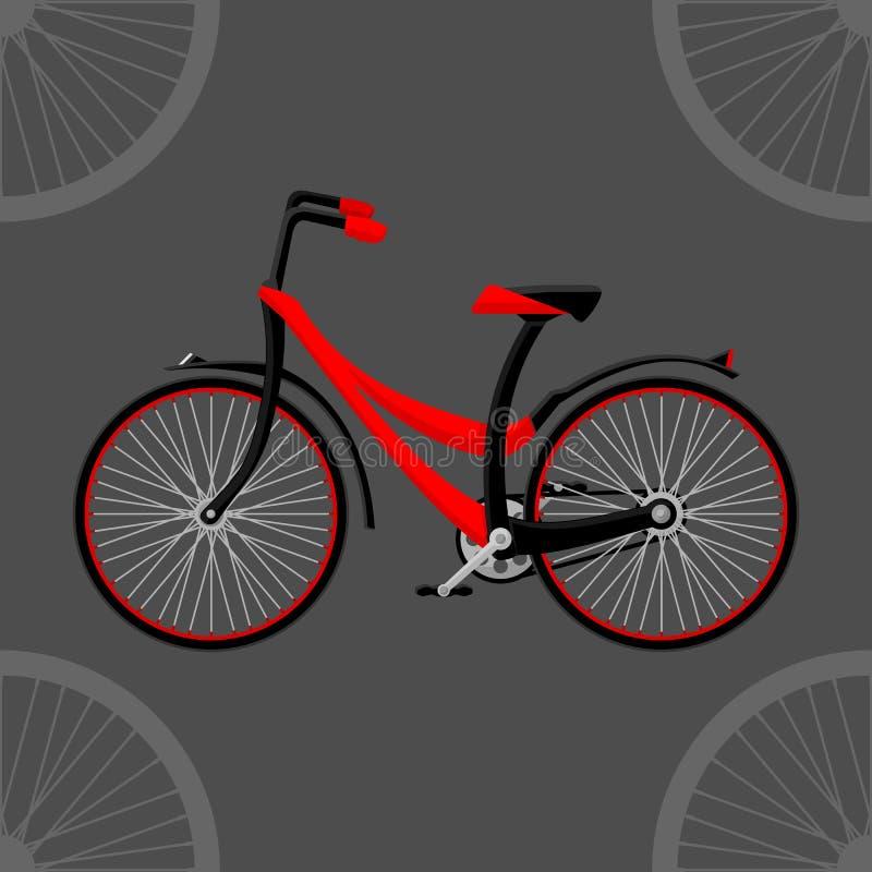Велосипед 2D стоковые изображения