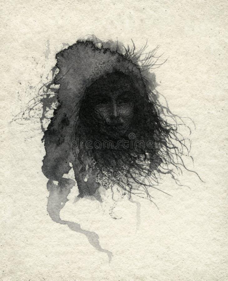 ведьма иллюстрация штока