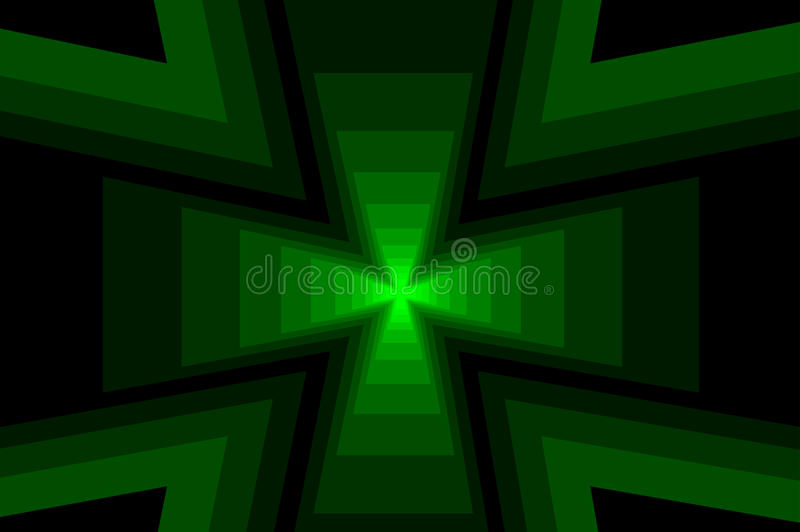 Взаимная абстрактная геометрическая предпосылка иллюстрация вектора