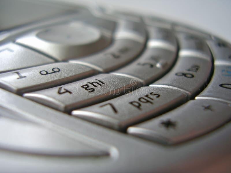 взаимодействуйте мобильный телефон стоковое изображение rf