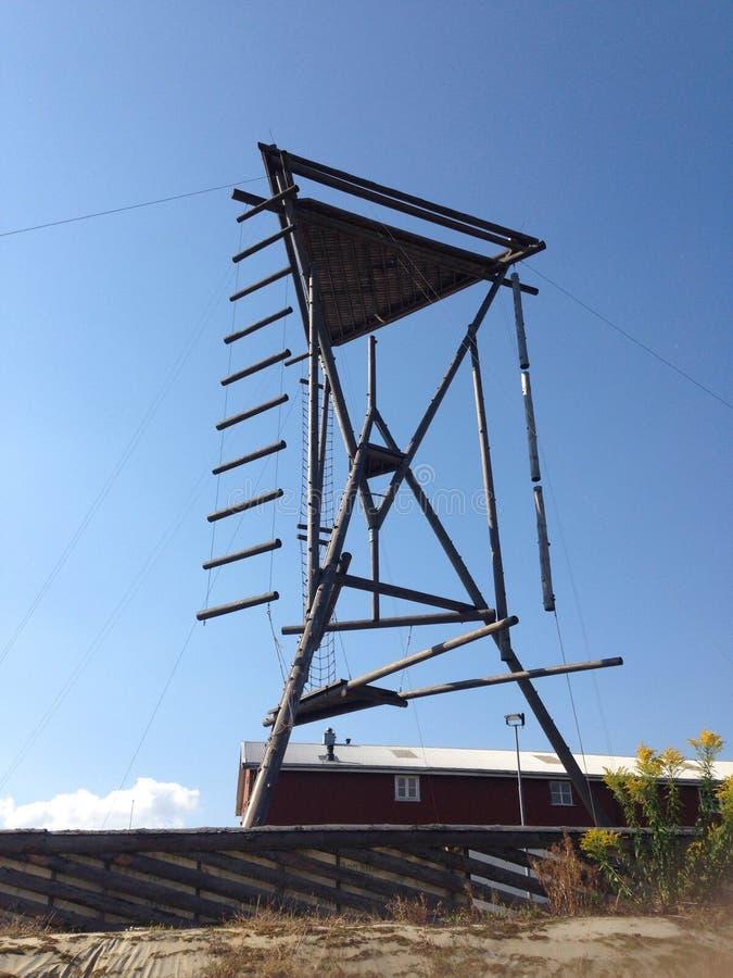 Взбираясь башня стоковые фотографии rf