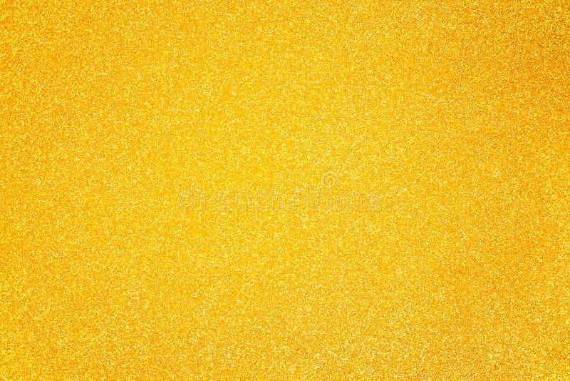Взбрызните золотой песок яркого блеска стоковые изображения rf