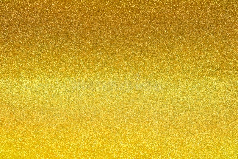 Взбрызните золотой песок яркого блеска стоковая фотография rf