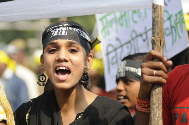 Взволнование Bhopal. стоковое фото rf