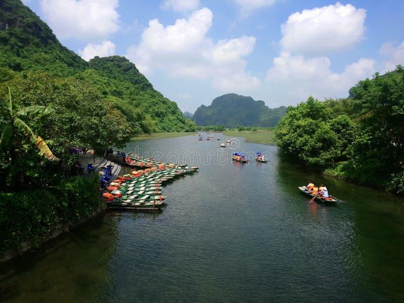 Взгляды Вьетнама стоковые изображения rf