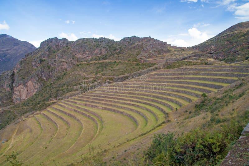Взгляды ландшафта в священной долине Перу стоковые фото