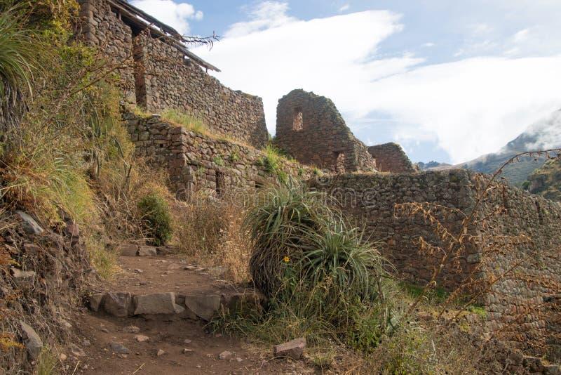 Взгляды ландшафта в священной долине Перу стоковые изображения