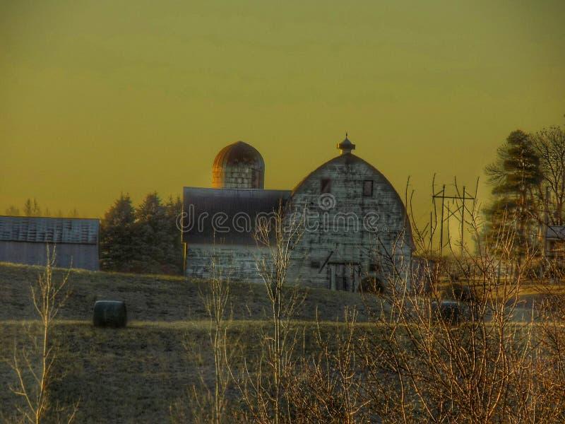 Взгляды фермы стоковое изображение