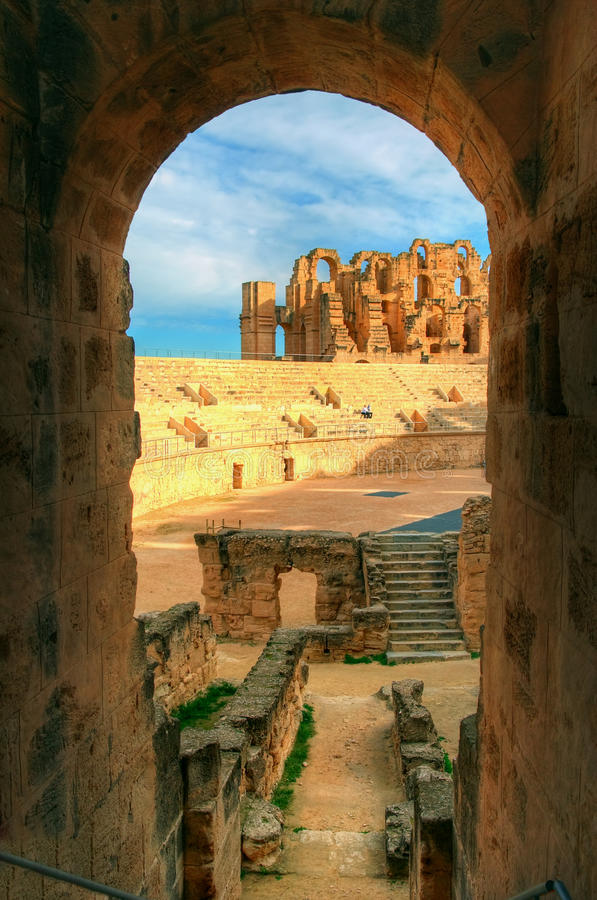 взгляд арены стоковое изображение