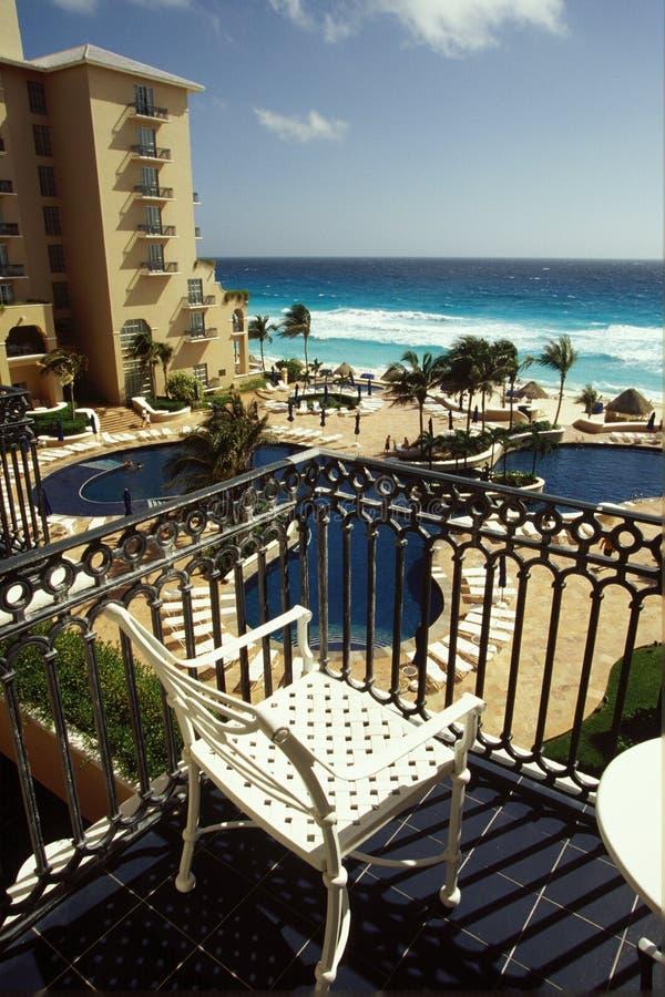 взгляд балкона стоковая фотография rf
