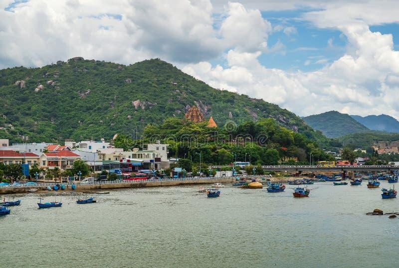 Взгляд башни Cham стоковые фотографии rf