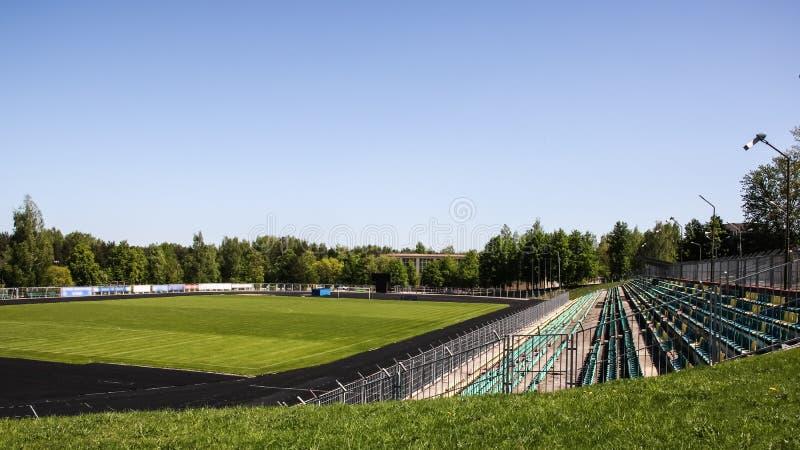 Взгляд большого стадиона стоковая фотография rf
