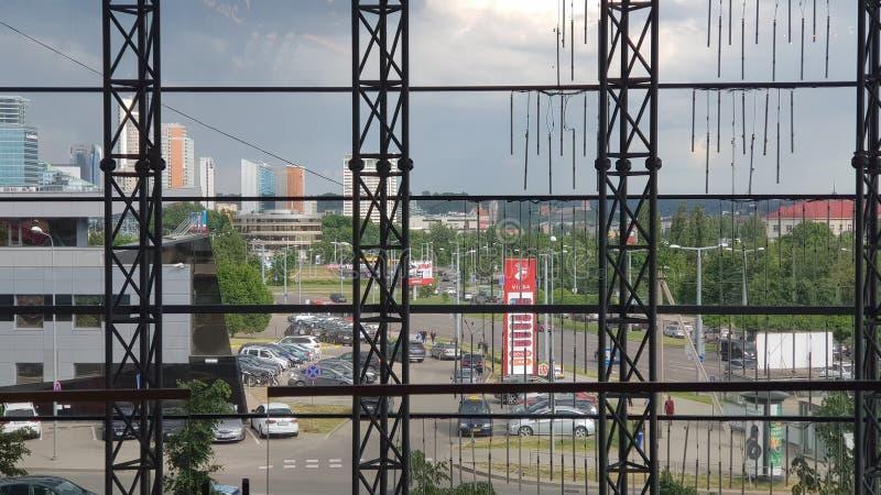 Взгляд Вильнюса стоковые изображения