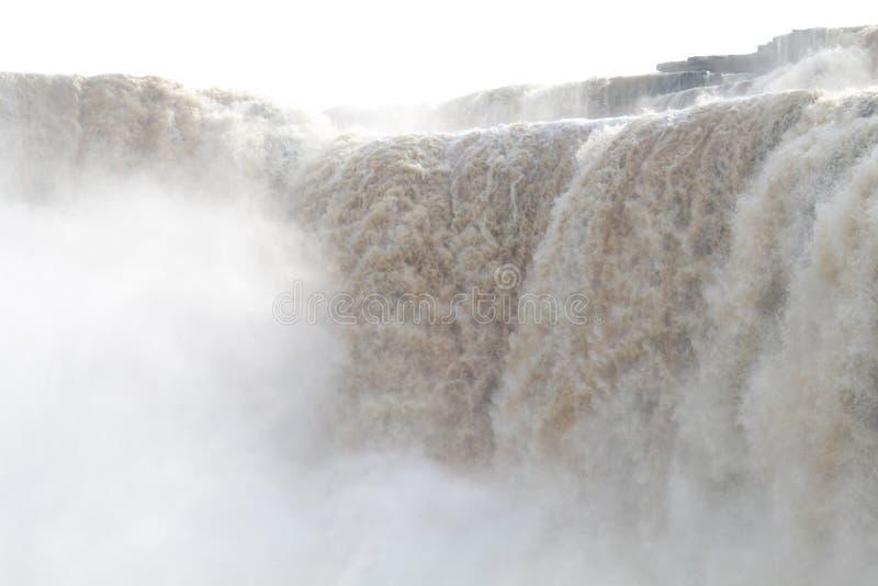 Взгляд водопада Chitrakot опасный стоковые изображения