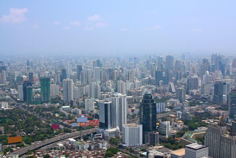 взгляд воздушного города самомоднейший стоковая фотография