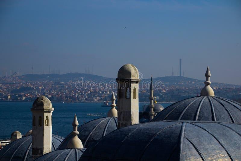 Взгляд в Стамбуле стоковые фотографии rf
