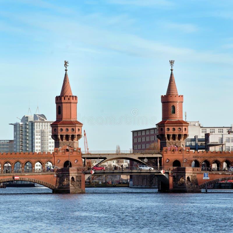 взгляд Германии моста berlin beautifull стоковая фотография