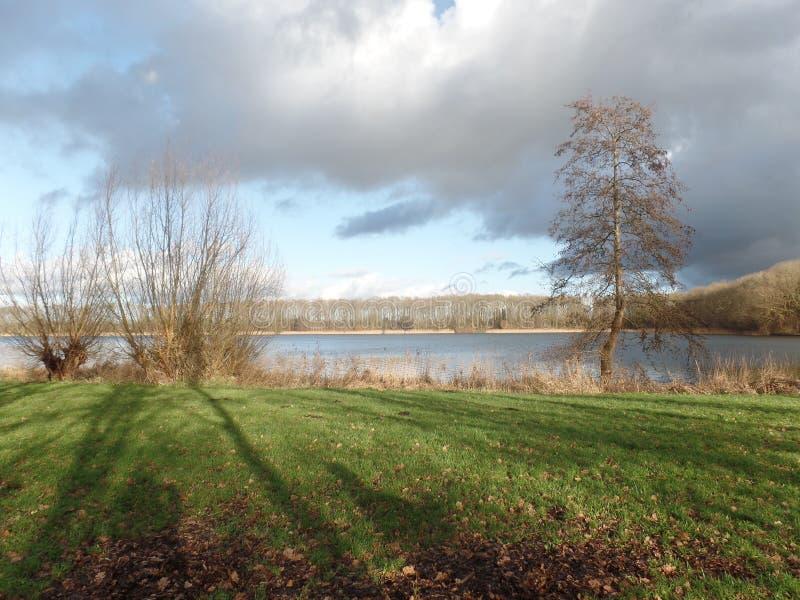 Взгляд голландского озера стоковые изображения