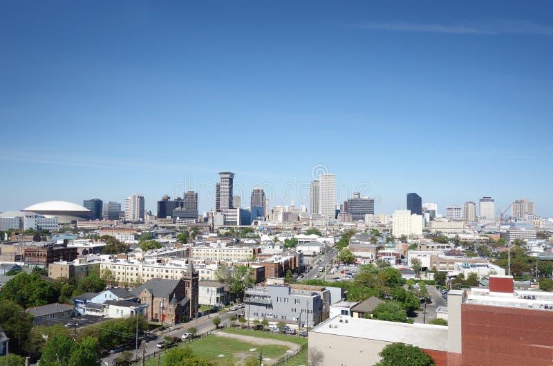 Взгляд горизонта Нового Орлеана стоковое фото rf