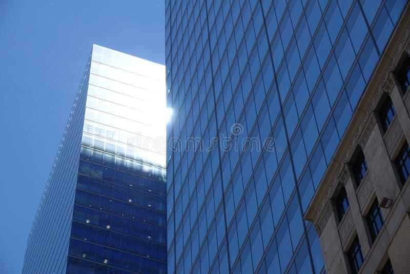 Взгляд горизонта района Торонто финансовый стоковая фотография