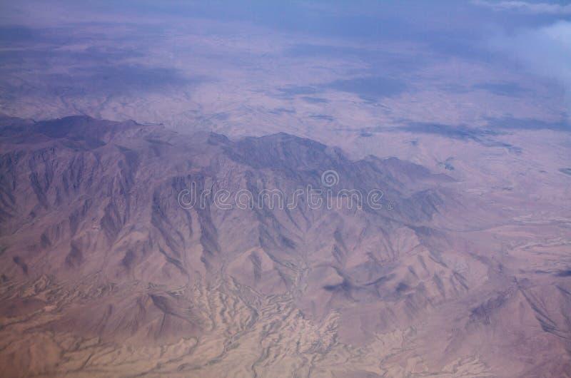 Взгляд горной области и ландшафта в Кандагаре, Афганистане стоковое фото